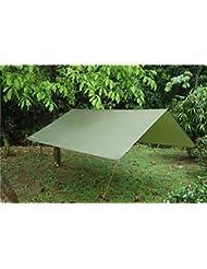 NatureFun Toldo de refugio impermeable de 3x3m, portátil, para camping y protección contra todo tipo de clima