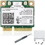 7260HMW 7260ac Wireless LAN WiFi 802. 11ac نصف ميني PCI-E