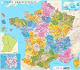 70049 FRANCE ADMINISTRATIVE PLASTIFIEE  1/1M  100x115 cm...