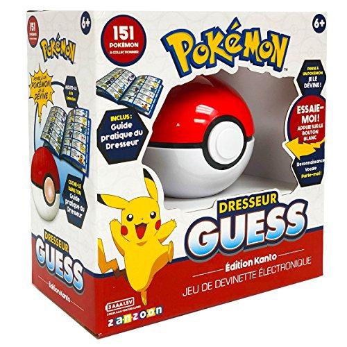 Pokemon Bandai Jeu électronique – Dresseur Guess – édition Kano