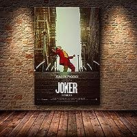 Hollywood Joaquin Phoenix Affiche Affiche Joker Affiche Film Comique Art Toile Peinture À L'huile Mur Photos Pour Le Salon Home Decor X80CM
