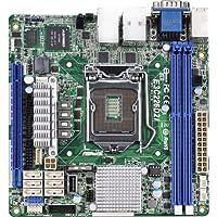 ASRock E3C226D2I - Scheda madre per server/workstation (socket 1150, Intel C226, DDR3, S-ATA 600,