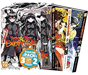 Twin star exorcists Starter Pack Tomes 1 à 3