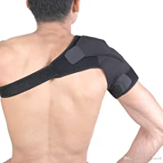 Tima 5647-Baleno Neoprene Shoulder Support (Black)