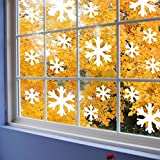 All Products : Supertogether White Snow Flake Non Marking Window Stickers - Frozen Bedroom Theme Decals (Pack of 30)