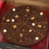 7 Inch Heavenly Honeycomb Chocolate Pizza - Gourmet Belgian Milk Chocolate - Gourmet Chocolate Pizza Company