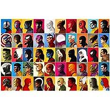 MARVEL CHARACTERS - Wall Poster Print - 30CM X 43CM Brand New Avengers Deadpool Xmen Spiderman