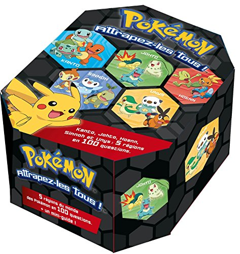 Pokemon / Quiz box - 100 questions sur les Pokemon depuis l'origine par Collectif