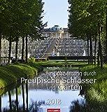 Ein Spaziergang durch preußische Schlösser und Gärten - Kalender 2018 - Weingarten-Verlag - Hans Bach - Wandkalender - 46 cm x 48 cm