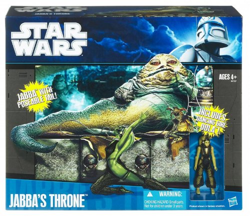 Star Wars Jabba's Throne with Jabba The Hutt, Oola for sale  Delivered anywhere in UK