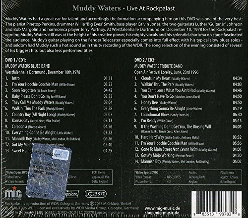 Live at Rockpalast (2 CD + 2 DVD Audio)