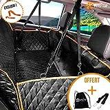 One PETS-TOP Copertina auto per cani sedile posteriore sedile impermeabile protezione auto + guinzaglio/cintura di sicurezza cane + borsa