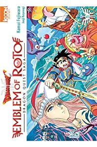Dragon Quest - Emblem of Roto Edition simple Tome 5