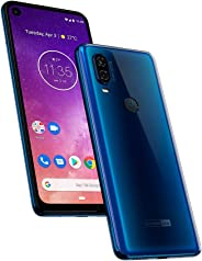 Motorola One Vision (128Gb) 6.3' Full Hd Display, 48Mp Camera, Dual Sim Us + Global 4G Lte Gsm Factory Unlocked Xt1970-1 - I