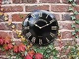 Uhr für den Innen- und Außenbereich, Gartenuhr, Wanduhr
