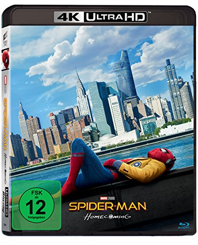 Spider-Man Homecoming - Ultra HD Blu-ray [4k + Blu-ray Disc]