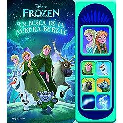 Libro musical 7 botones. Frozen luces mágicas (LSD)
