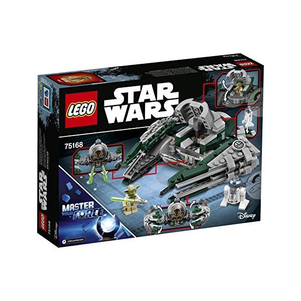 LEGO- Star Wars Jedi Starfighter di Yoda Costruzioni Piccole Gioco Bambina, Multicolore, 75168 5 spesavip