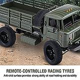 Alomejor RC Auto Rad, 2 Stück Set 1:12 RC Gummireifen Reifen und Kunststoffnaben Rad für Spielzeug LKW und Rennwagen