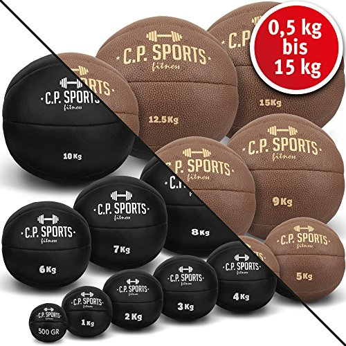 C.P.Sports - Balón Medicinal de Piel