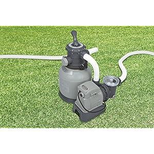 Intex 56674Fr Pompa di Filtraggio a Sabbia per Piscine Fuoriterra e Interrate, 6 M3/h, 0,5 Cv