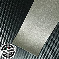 Mist Silver Metal Lucido Pellicola Cast Professionale Adesiva Rivestimento Carwrapping