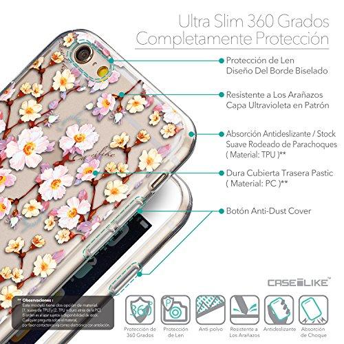 CASEiLIKE Graffiti 2703 Housse Étui UltraSlim Bumper et Back for Apple iPhone 6 / 6S (4.7 inch) +Protecteur d'écran+Stylets rétractables (couleur aléatoire) 2236