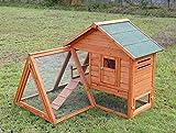 Kaninchenstall Kleintierhaus Hasenstall Kleintierkäfig Nr. 06 'Bonny' mit Freilaufgehege