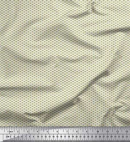 off Pfeil & Diamant klein Stoff Drucke Meter 58 Zoll breit ()