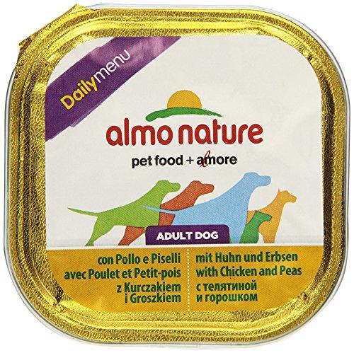 Daily Menu Hundefutter mit Huhn und Erbsen (9x300 g)
