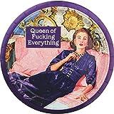 Retro humour piatti di carta–Queen of F * * King everything