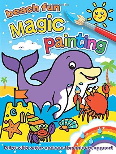 Magic Painting - Beach Fun (Book Magic Painting)