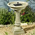Smart Solar Winchester Birdbath Water Feature