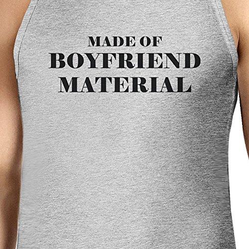 365 Printing Herren Pullunder One size Boyfriend Material - Gray