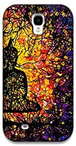 The Racoon Grip Tree of Enlightenment hard plastic printed back case / cover for Samsung Galaxy S4