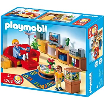 Playmobil 5332 dollhouse living room toys games - Playmobil wohnzimmer 5332 ...