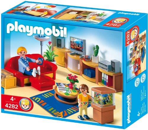 Playmobil 626014 - Familia Salón