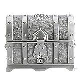 WAL anteriore antico piccolo pirata forziere del tesoro dei pirati wedding Jewelry Gift Box