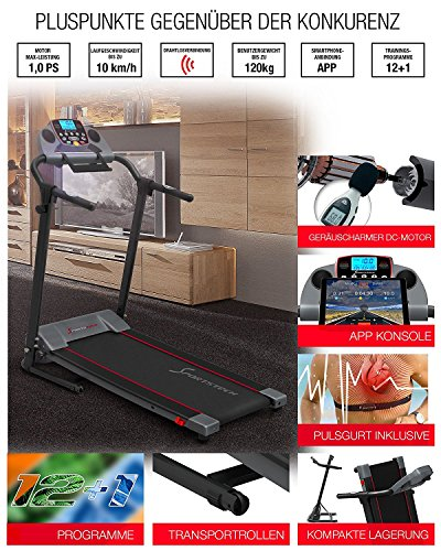 Sportstech F10 Laufband - 6