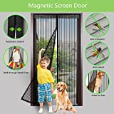 XIAO MO GU Magnetic Screen Door Keep Away from Insects & Mosquito Curtain