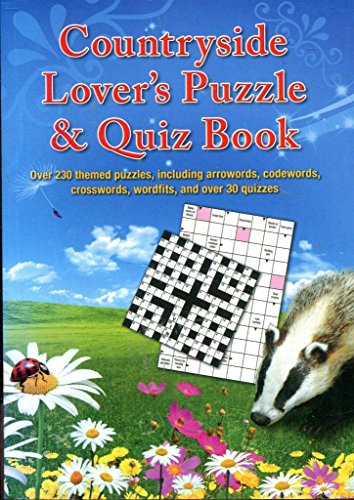 Countryside Lover 's Puzzle & Quiz Buch Paperback