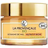 La Provençale Bio – Baume de Miel Nutritif Riche – Miel de Fleurs Bio IGP Provence et Pulpe d'Olive Bio – Pour Tous Types de