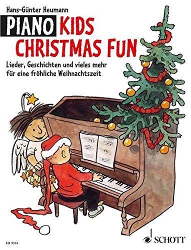 Fun: Lieder, Geschichten und vieles mehr für eine fröhliche Weihnachtszeit. Klavier. (Kid Store Online)