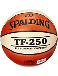 Spalding TF 250 Women sz.6, (74-584Z) - Pelota de baloncesto ( interior, cuero ) , talla 6