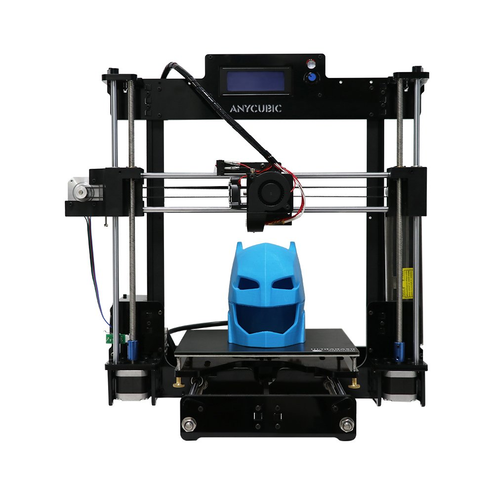 Anycubic Prusa i3 Imprimante 3D Mise à Jour avec Plateforme Brevetée Ultrabase et Grand Volume d'impression 210x210x250