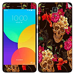 Theskinmantra Happy Skulls Xiaomi Mi4 mobile skin