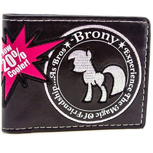 hasbro-my-little-pony-brony-friendship-nero-portafoglio