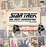 Star Trek The Next Generation Portfolio Prints Trading Cards Series One Factory Sealed by scifihobby
