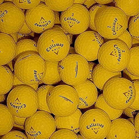 Callaway, Set di palline da golf Mix Grade B, Giallo (Yellow)