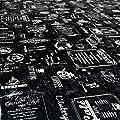 Wachstuchtischdecke Wachstuch Wachstischdecke Tischdecke abwaschbar Modern Retro Indutrie Cafe von ANRO - Gartenmöbel von Du und Dein Garten
